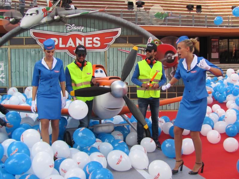 Festival di Roma 2013 - il tappeto rosso di Planes