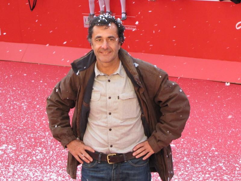 Belle & Sebastien: il regista Nicolas Vanier al Festival di Roma 2013, sul tappeto rosso
