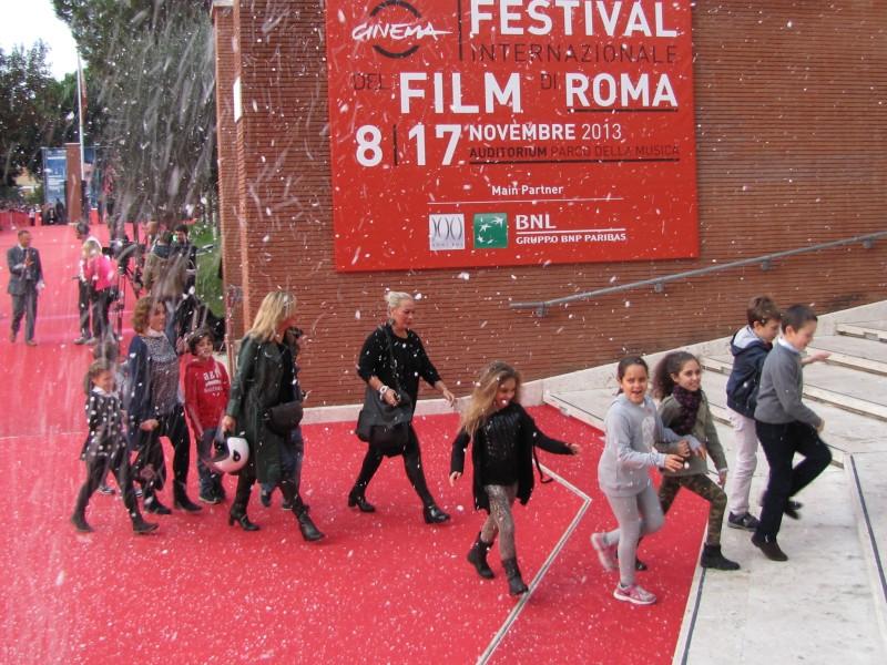 Belle & Sebastien: un tappeto rosso tutto bianco per il film al Festival di Roma 2013