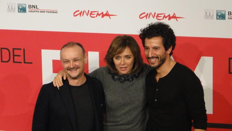 Festival di Roma 2013 - Valeria Golino, Francesco Scianna con Marco Simon Puccioni presentano 'Come il vento'