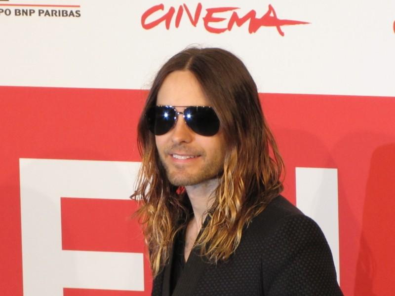 Jared Leto al Festival del FIlm di Roma 2013 con Dallas Buyers Club