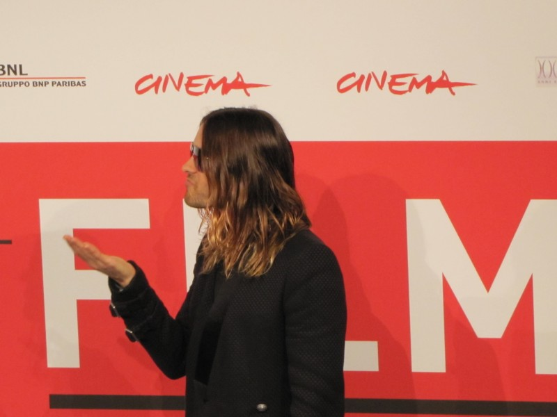 Jared Leto al Festival del FIlm di Roma 2013 presenta il dramma Dallas Buyers Club