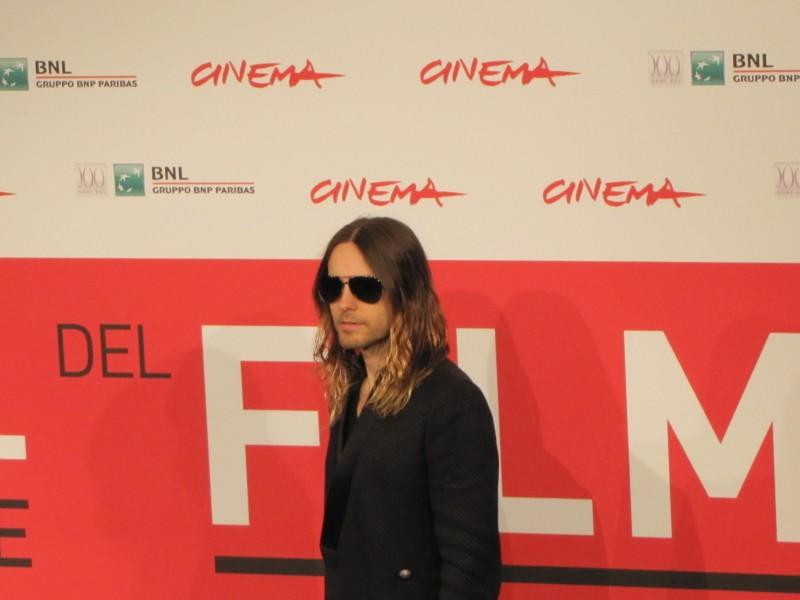 Jared Leto al Festival di Roma 2013 con Dallas Buyers Club