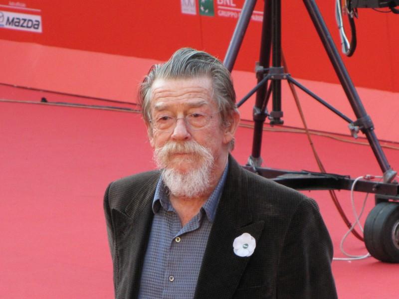 John Hurt al Festival di Roma 2013, sul red carpet
