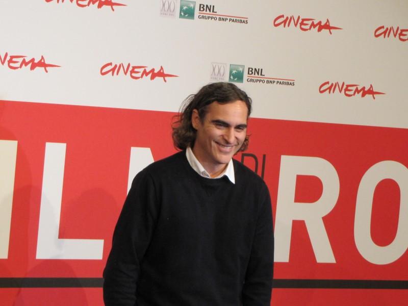 Joaquin Phoenix presenta 'Her' al Festival di Roma nel 2013