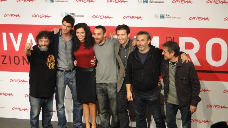Song 'e Napule: foto di gruppo per cast ed autori a Roma 2013