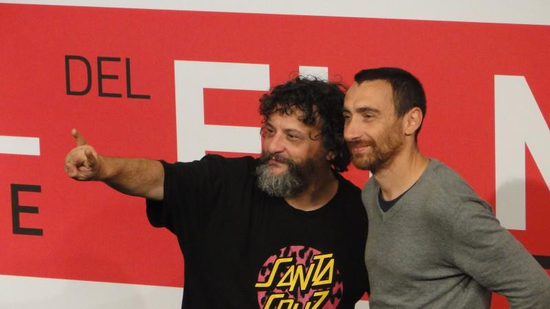 Song 'e Napule: Marco ed Antonio Manetti posano a Roma 2013