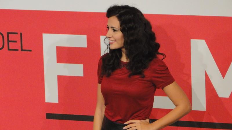 Song 'e Napule: Serena Rossi posa al Festival di Roma 2013