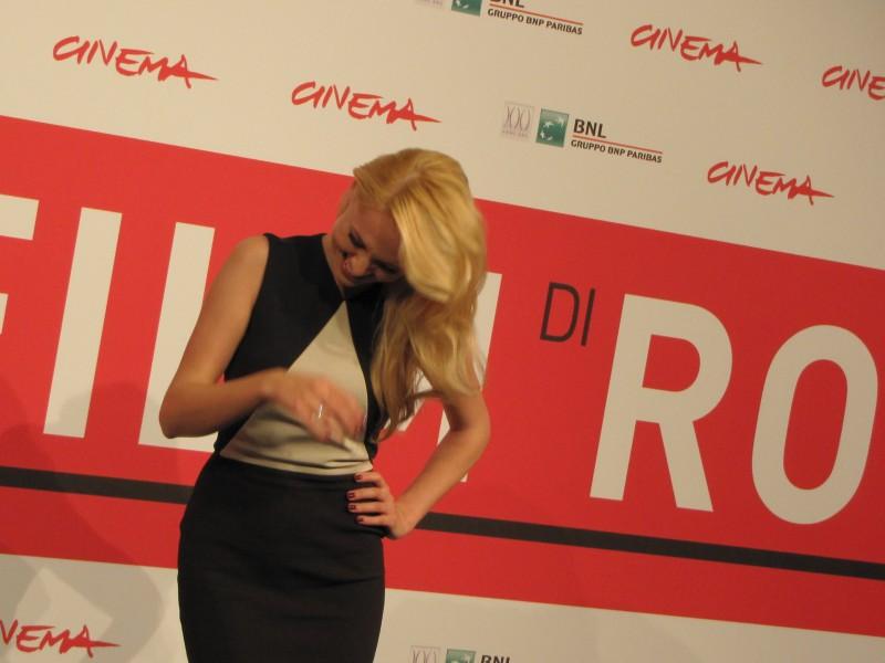 Stalingrad 3D: la bionda Yanina Studilina al Festival di Roma 2013