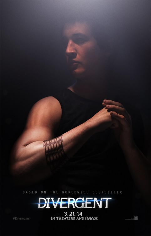 Divergent: il character poster di Miles Teller