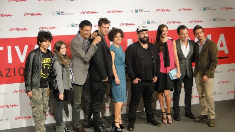 La Santa: il cast posa al Festival di Roma 2013
