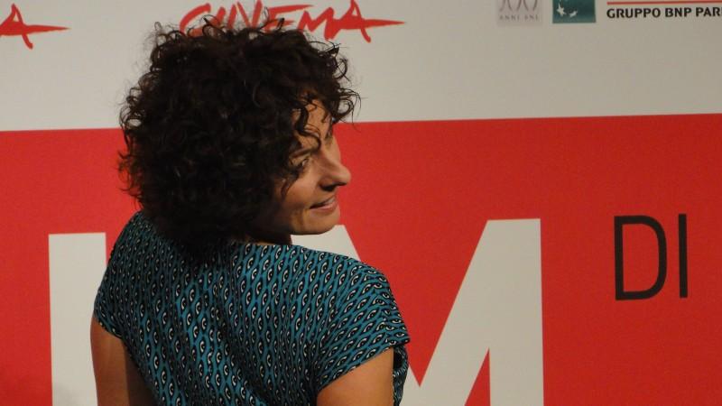 La Santa: Lidia Vitale posa a Roma 2013