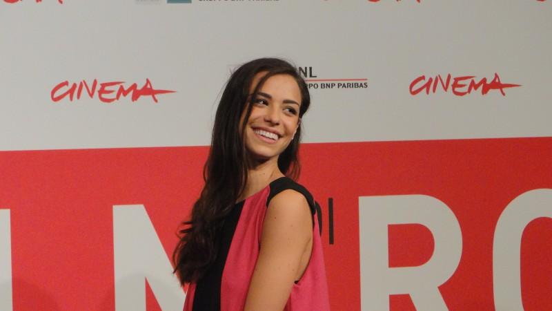 La Santa: Marianna Di Martino posa al Festival di Roma 2013
