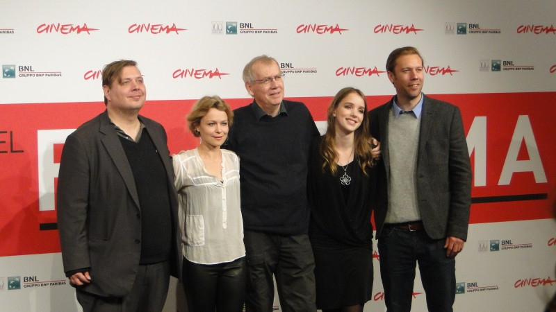 Sorrow and Joy: una foto del cast a Roma 2013