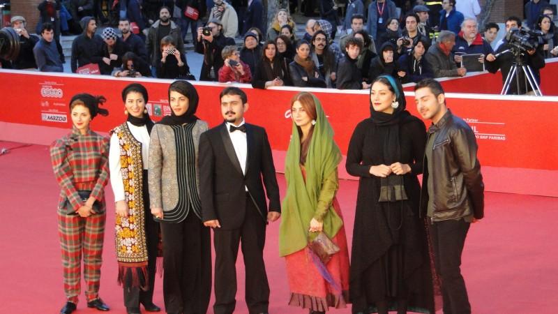 Acrid: il cast del film sfila sul tappeto rosso a Roma 2013