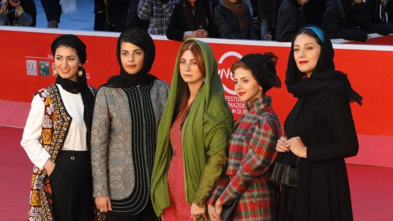Acrid: le protagoniste femminili del film sfila sul tappeto rosso a Roma 2013