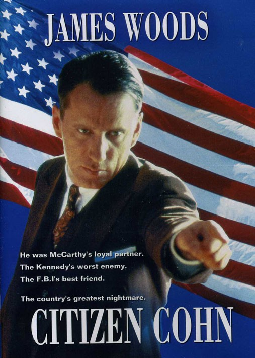 Citizen Cohn: la locandina del film