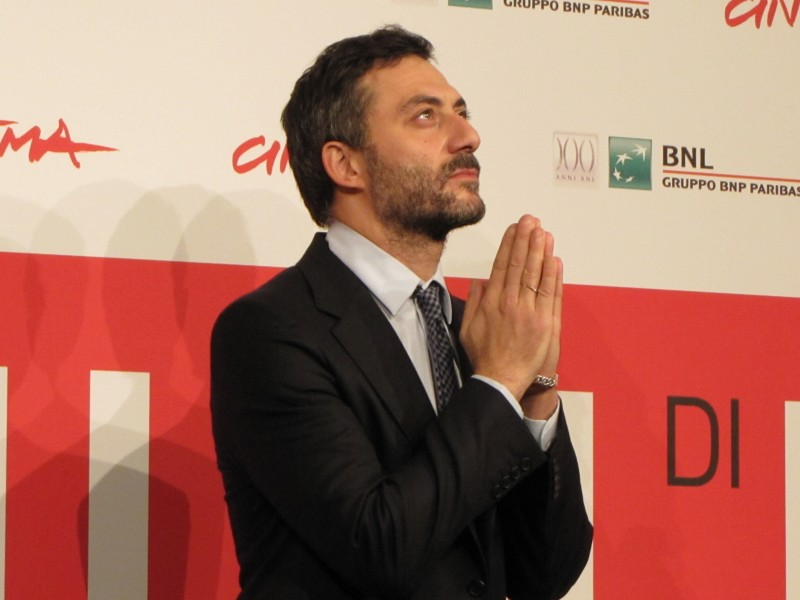 Filippo TImi presenta I corpi estranei al Festival di Roma nel 2013