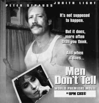 Men don't tell: la locandina del film