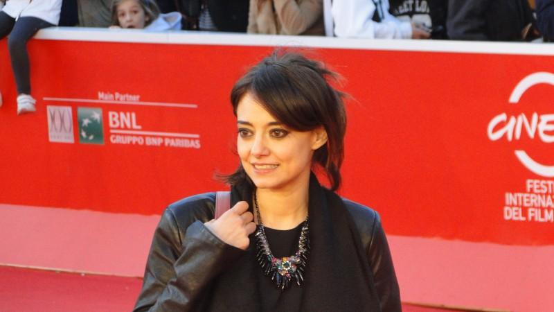 Se chiudo gli occhi non sono più qui: Elena Arvigo sul red carpet di Roma 2013