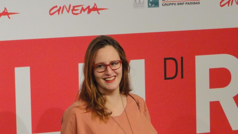 Sitting Next to Zoe: una sorridente Ivana Lalovic a Roma 2013
