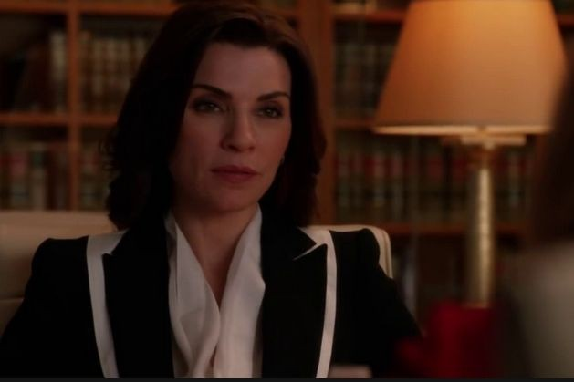 The Good Wife: Julianna Margulies in una scena dell'episodio The Next Week