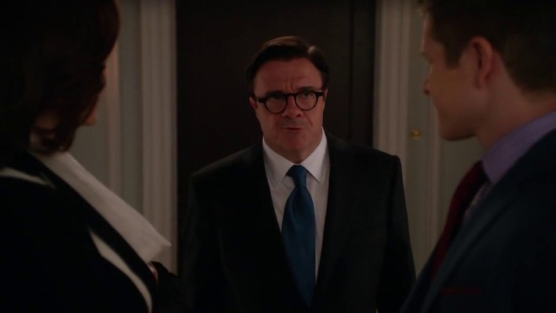 The Good Wife: Nathan Lane in una scena dell'episodio The Next Week