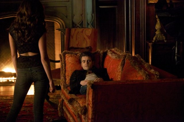 The Vampire Diaries: Paul Wesley e Nina Dobrev nell'episodio Handle with Care