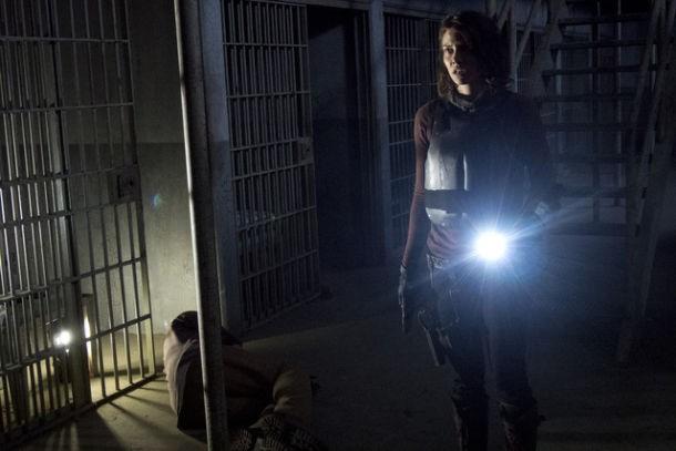 The Walking Dead: Lauren Cohan nell'episodio L'inferno