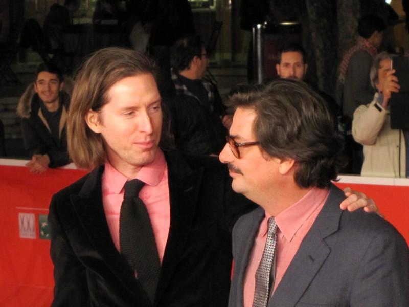 Festival di Roma 2013 - Roman Coppola e Wes Anderson sul red carpet della kermesse