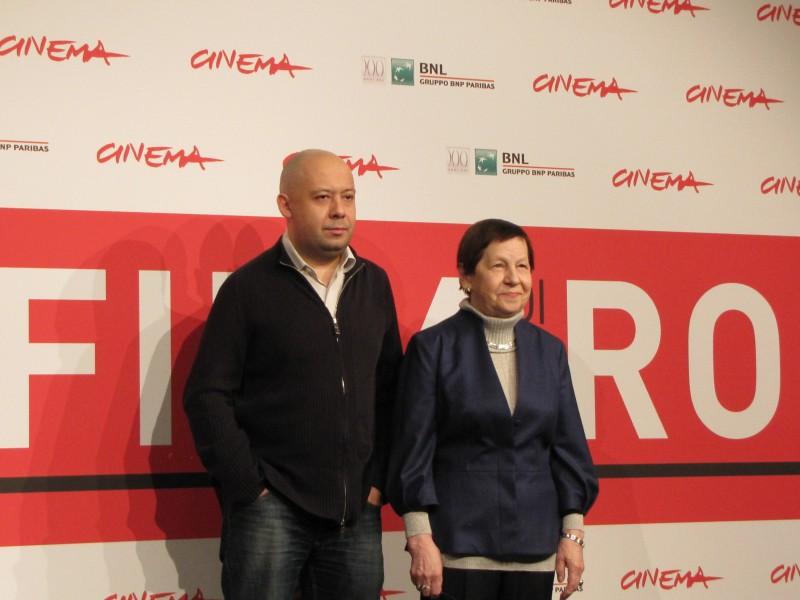 Hard to Be a God: Aleksej German jr con Svetlana Karmalita a Roma 2013