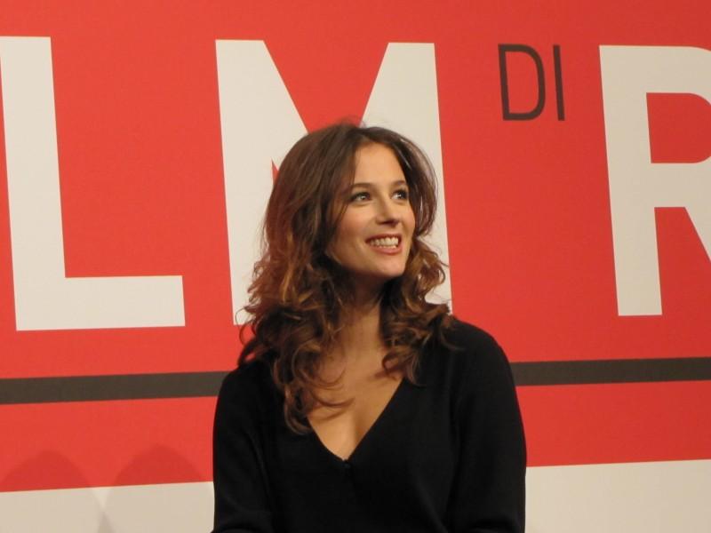 Il paradiso degli orchi: la bella Melanie Bernier al Festival di Roma nel 2013, per presentare il film