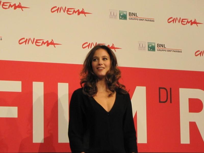 Il paradiso degli orchi: Melanie Bernier al Festival di Roma nel 2013, per presentare il film