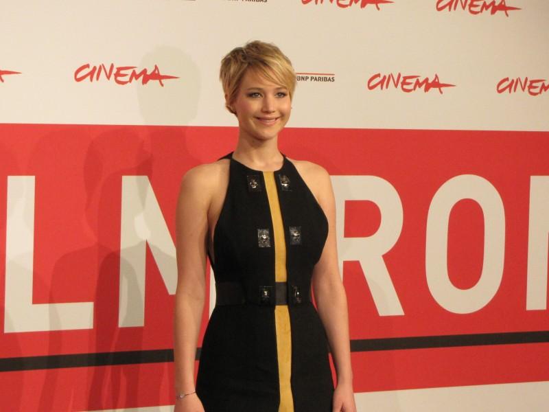 Hunger Games: la ragazza di fuoco - Jennifer Lawrence a Roma 2013