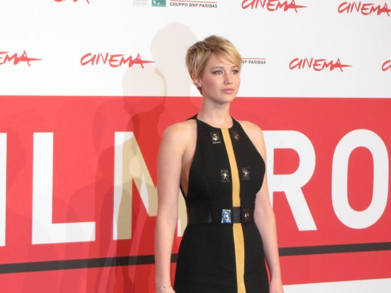 Hunger Games: la ragazza di fuoco - Jennifer Lawrence al Festival di Roma 2013