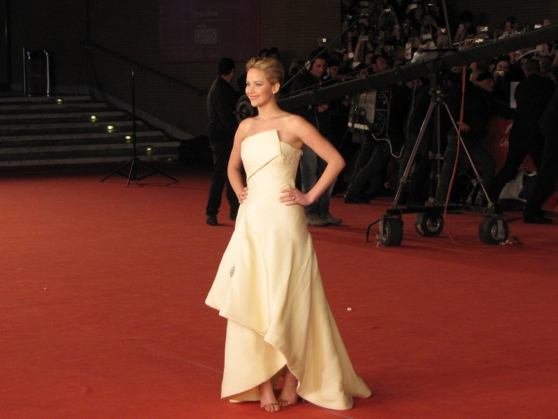 Hunger Games: la ragazza di fuoco - Jennifer Lawrence al Festival di Roma 2013, sul tappeto rosso