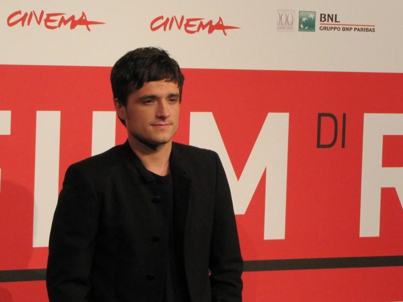 Hunger Games: la ragazza di fuoco - Josh Hutcherson al Festival di Roma, 2013