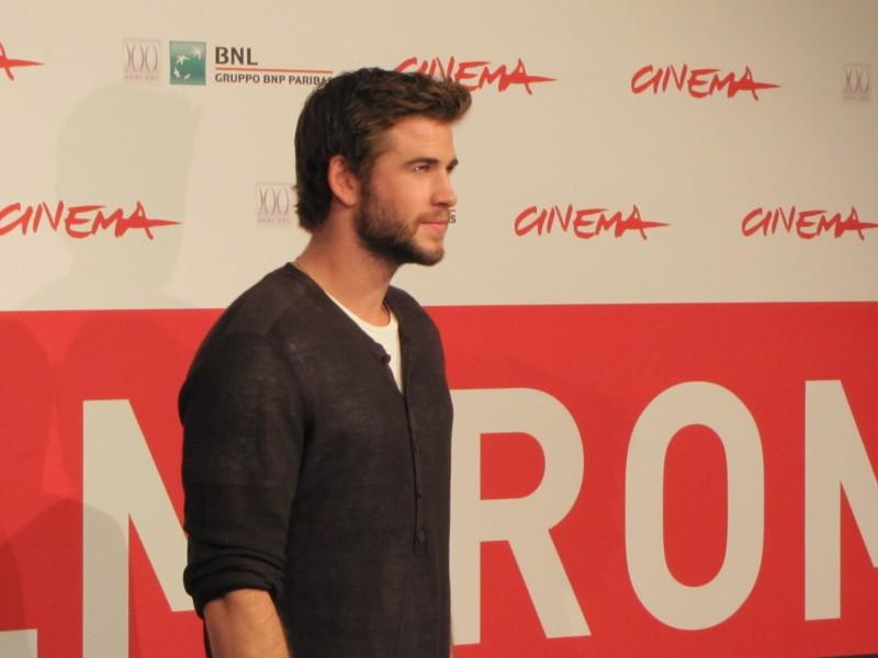 Hunger Games: la ragazza di fuoco, Liam Hemsworth al Festival di Roma 2013