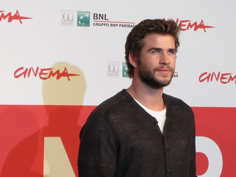 Hunger Games: la ragazza di fuoco, Liam Hemsworth al Festival di Roma 2013 per presentare il film