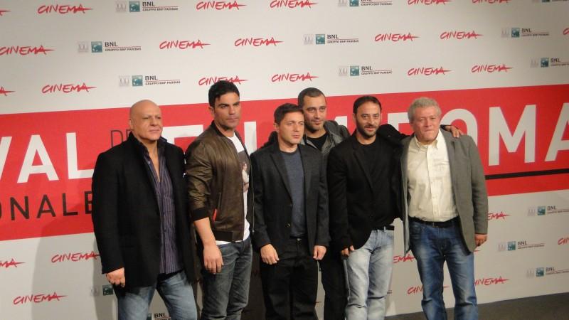 Take Five: il regista Guido Lombardi col cast del film al Festival di Roma 2013