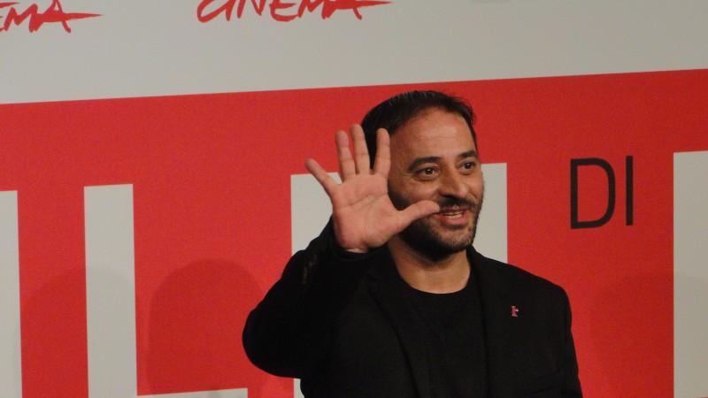 Take Five: Salvatore Striano posa al Festival di Roma 2013