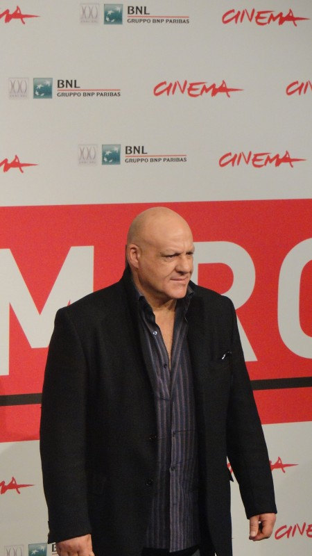 Take Five: Peppe Lanzetta posa al Festival di Roma 2013