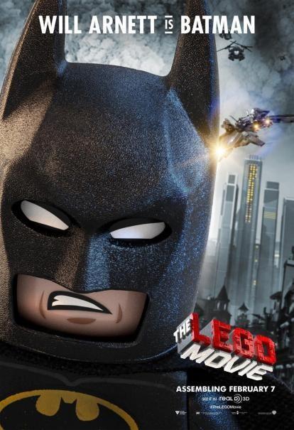 The Lego Movie: il character poster di Batman