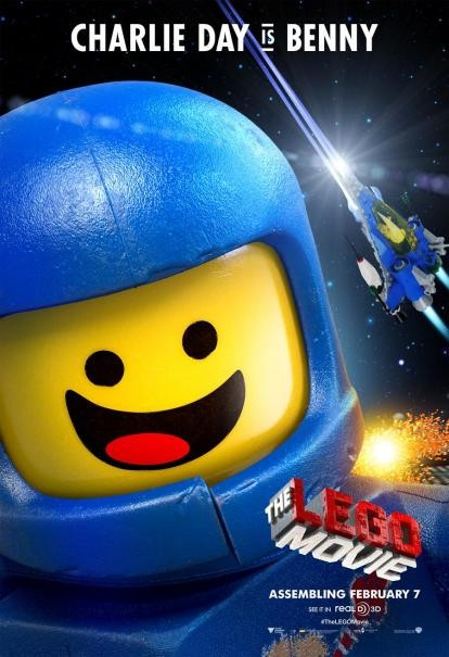 The Lego Movie: il character poster di Benny