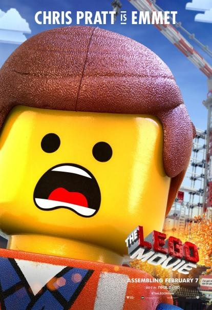 The Lego Movie: il character poster di Emmett