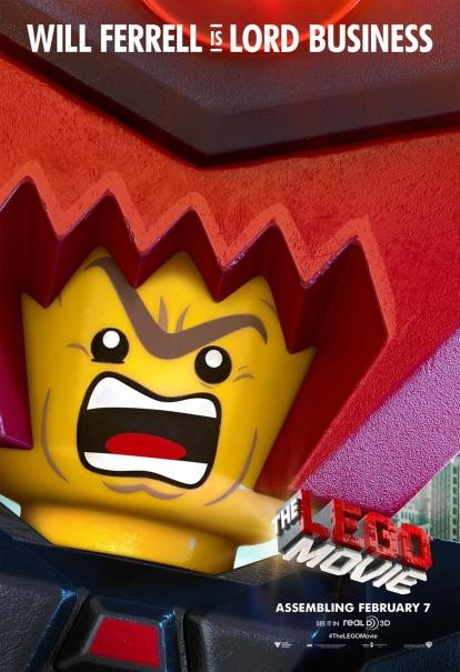The Lego Movie: il character poster di Lord Business