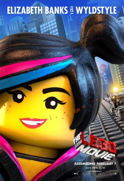 The Lego Movie: il character poster di Wyldstyle