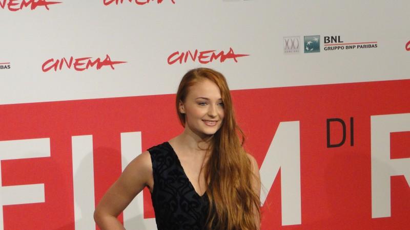 Another Me: Una sorridente Sophie Turner posa al festival di Roma 2013