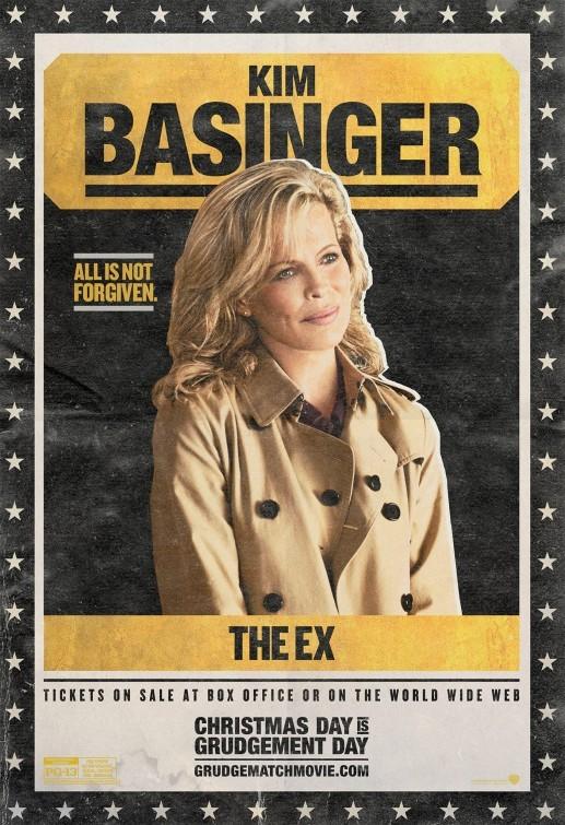 Grudge Match: character poster per Kim Basinger