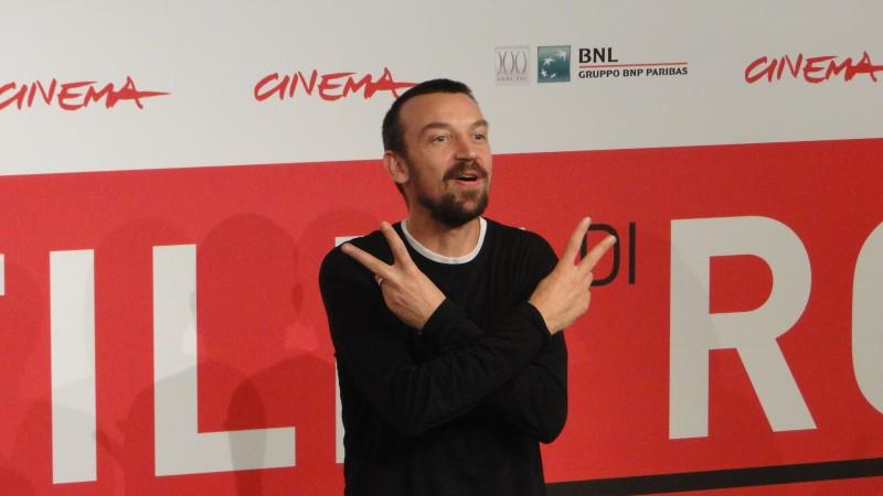 Roma 2013: il regista Alberto Fasulo scherza al photocall del film Tir